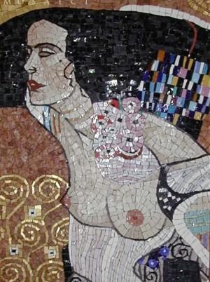 Klimt Salomè mosaico