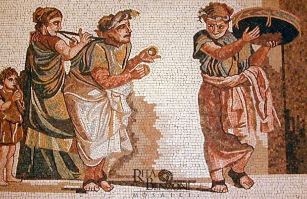 Muscanti mosaico marmo