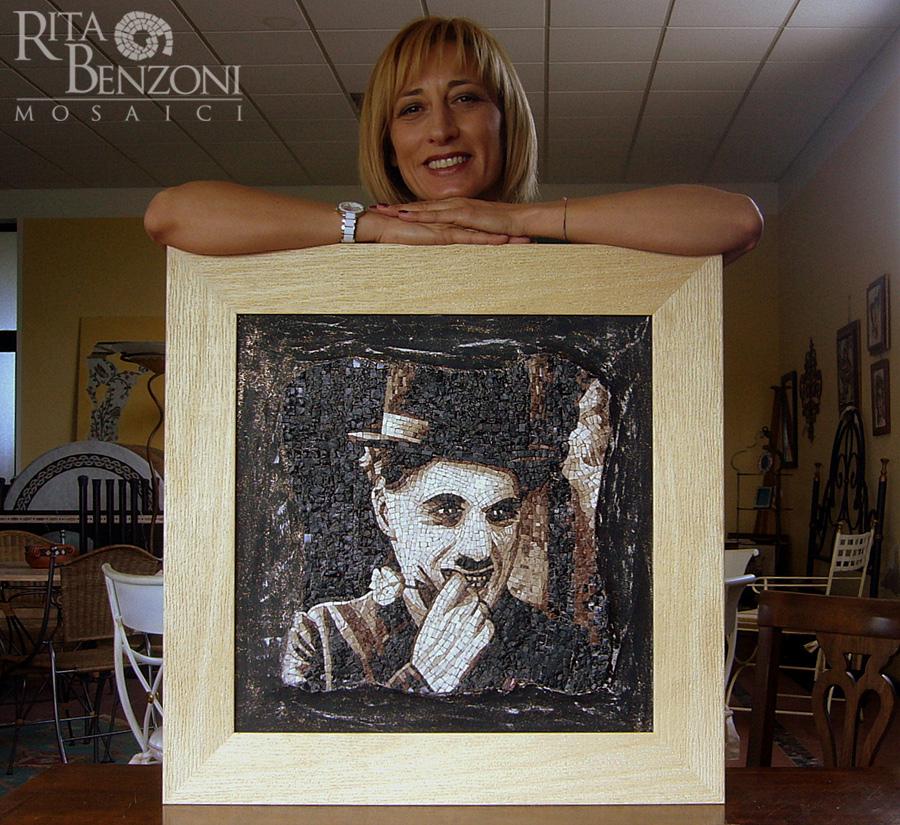 Ritratto-mosaico-Charlie-Ch